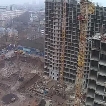 ЖК Невская Звезда, ход строительства ноябрь 2017